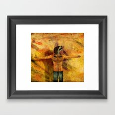 I, Jagger Framed Art Print