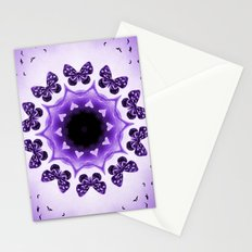 All things with wings (purple) Stationery Cards