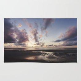 Sunrise over the Beach Rug