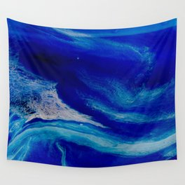 Blue Inlet Wall Tapestry