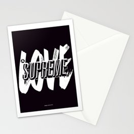 A Love Supreme Stationery Cards