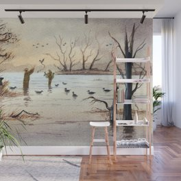 Setting The Decoys II Wall Mural