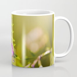 green branched tendrils of Vicia Coffee Mug