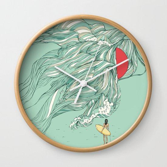Ocean Summer Wall Clock
