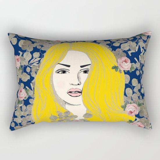 Jene #society6 #decor #buyart Rectangular Pillow