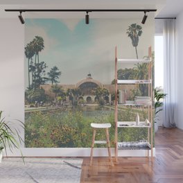 the botanical building in Balboa Park, San Diego Wall Mural