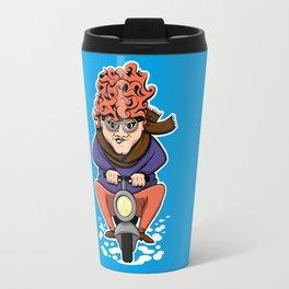 Crazy Moto Grandma Travel Mug