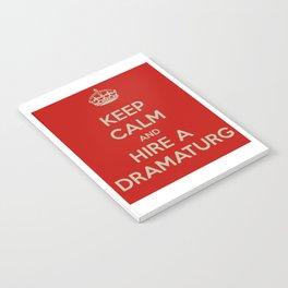 Hire a Dramaturg Notebook
