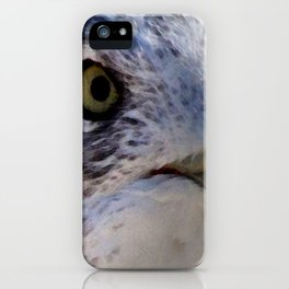 Watercolor Seagull Mask 02 iPhone Case