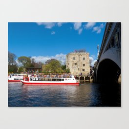 Lendal tower and bridge York Canvas Print