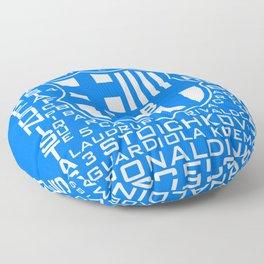 MixWords: Barcelona Floor Pillow