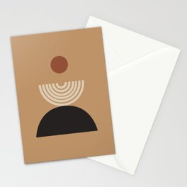 Nascita del sole - The birth of the sun - Modern abstract art Stationery Cards