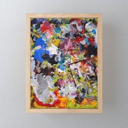 Artist palette Framed Mini Art Print