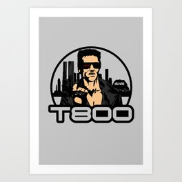 t800 Art Print