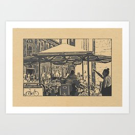 York Scenes (Stamp Edit #1) Art Print