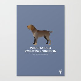 Wirehaired Pointing Griffon Canvas Print