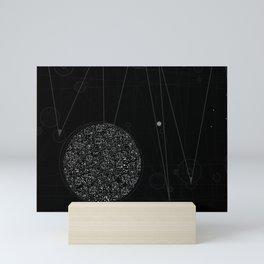 Sputnik Constellation Mini Art Print