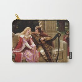 """Edmund Blair Leighton """"Tristan and Isolde"""" Carry-All Pouch"""