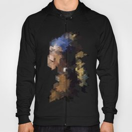 Panelscape Iconic  - Girl with a Pearl Earring Hoody