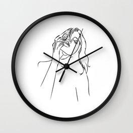 La Mano Original Wall Clock
