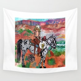 Annie Oakley Wall Tapestry
