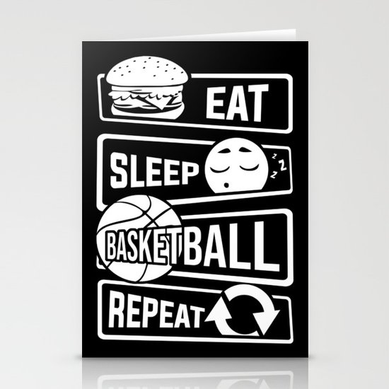 A2 Basketball Eat Sleep Dunk Repeat print Wrapping Paper And Gift Tags Birthday