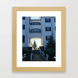 """A Tree in Maine"" Photography Framed Art Print"
