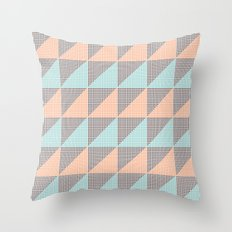 Triangles. Throw Pillow