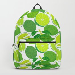 Lime Harvest Backpack