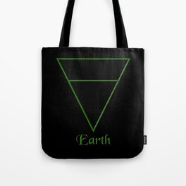 Earth Element Symbol Tote Bag