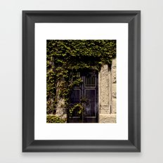 Exit does not Exist Framed Art Print