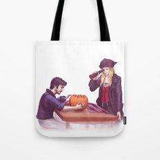 Captain Swan Halloween Tote Bag
