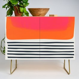 Sunset Ripples Credenza