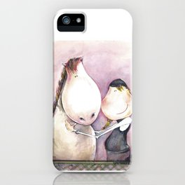 Love my horse iPhone Case