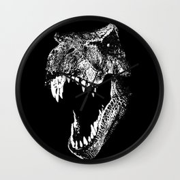 I'm a Dino Fan! Wall Clock