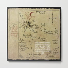 MAP Metal Print