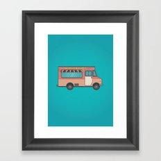Spaghett-About-It Framed Art Print