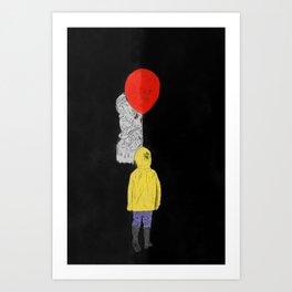 It - Watercolor Art Print