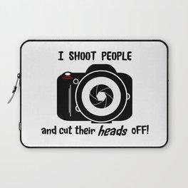I Shoot People - Photography Fun Design Laptop Sleeve