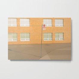 School Grounds Metal Print