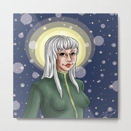 elle in the stars Metal Print