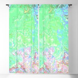 Abstract Marble Texture 303 Blackout Curtain