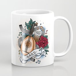 Bard - Vintage D&D Tattoos Coffee Mug