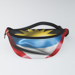 Antigua and Barbuda Flag Fanny Pack