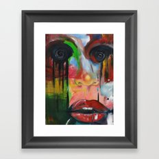 it's all too much Framed Art Print