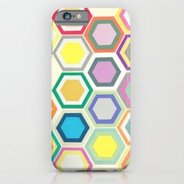 Honeycomb Layers II iPhone Case
