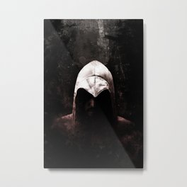 Roman Assassin Hood - Color Metal Print