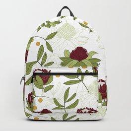 Waratah and Eucalyptus Backpack