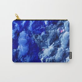 Abstración Océanica Azul Carry-All Pouch