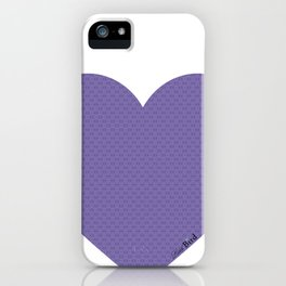I love you this much... (purple) iPhone Case